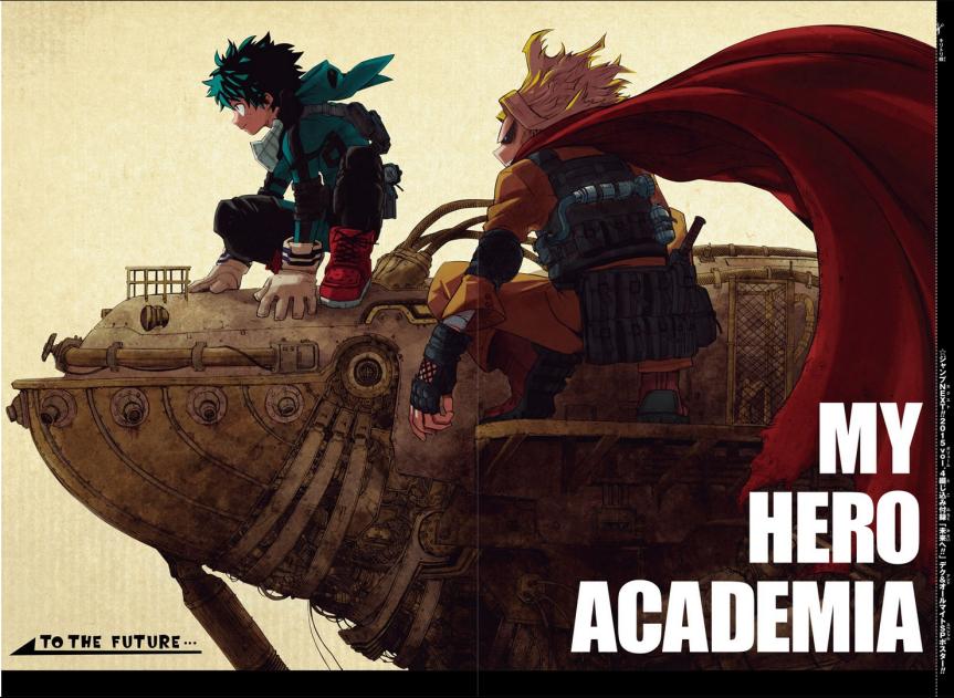 My Hero Academia chap. 252 : L'impardonnable/ Review