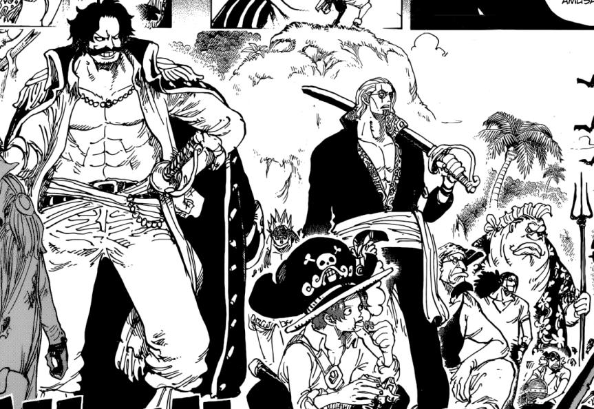 One Piece Chap. 965 : La conspiration du clanKurozumi