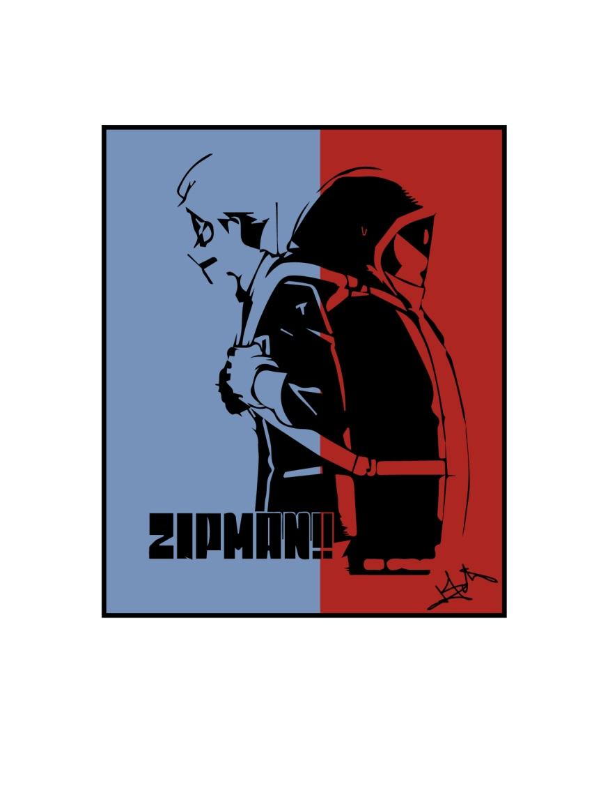 Zipman chap. 05 : Opération Ange-gorille / Review enFr.