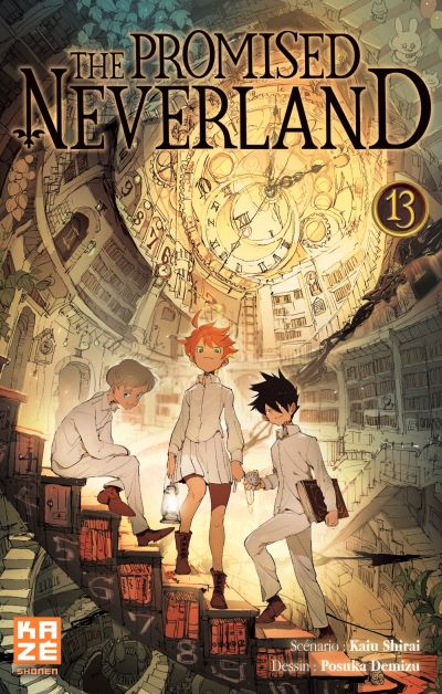 The Promised Neverland Tome 13 Edition Kaze